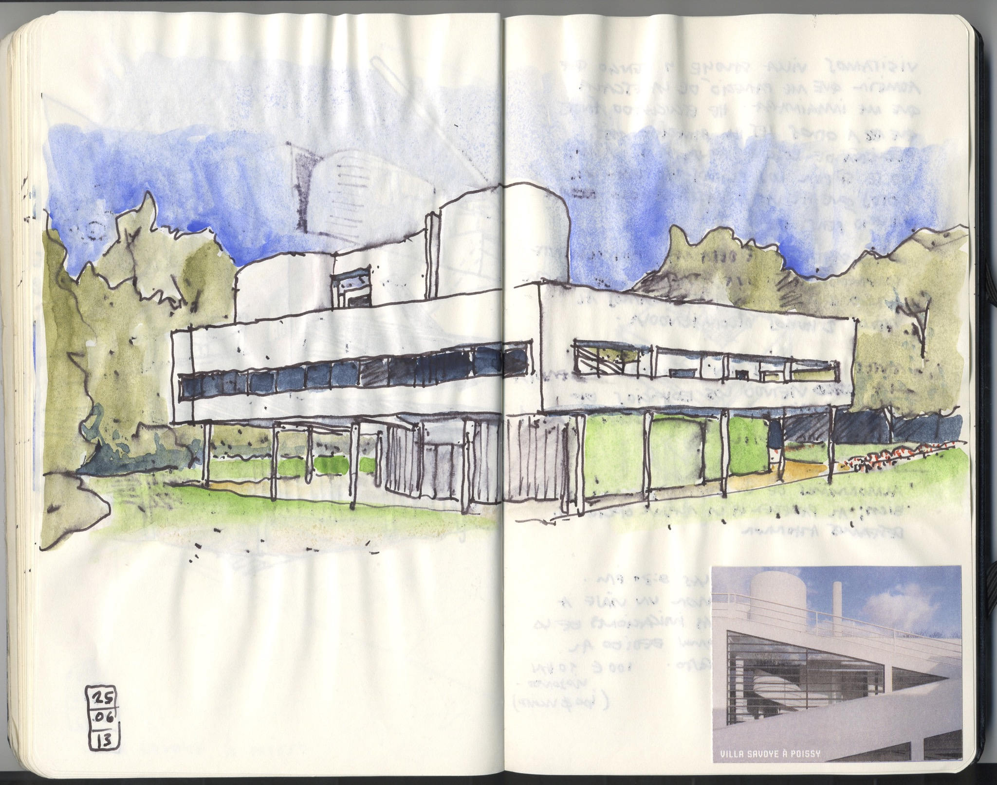 Villa savoye 1928 1931 le corbusier et pierre jeanneret for 5 points of architecture