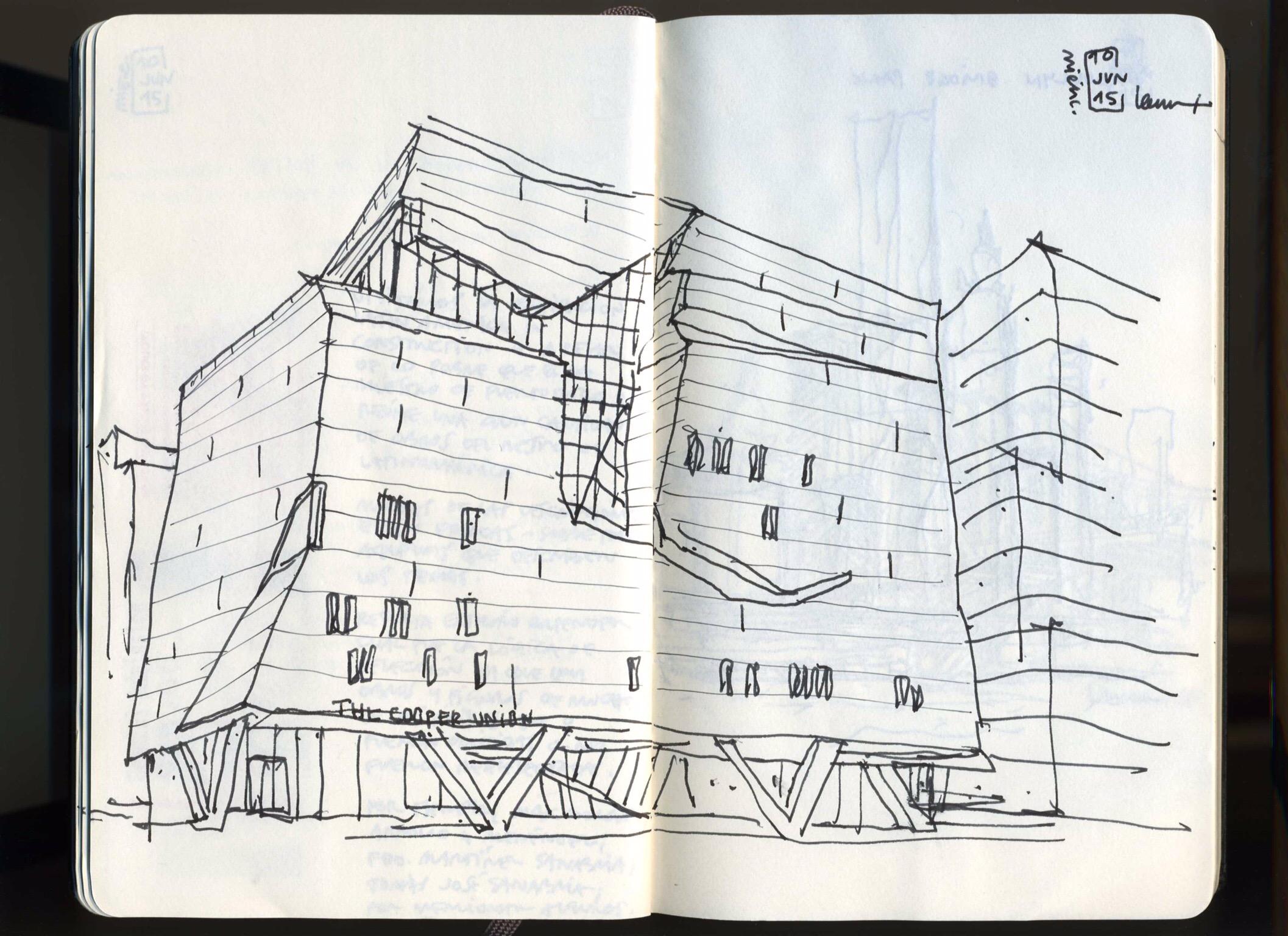 41 Cooper Square  Morphosis Architects  Thom Mayne